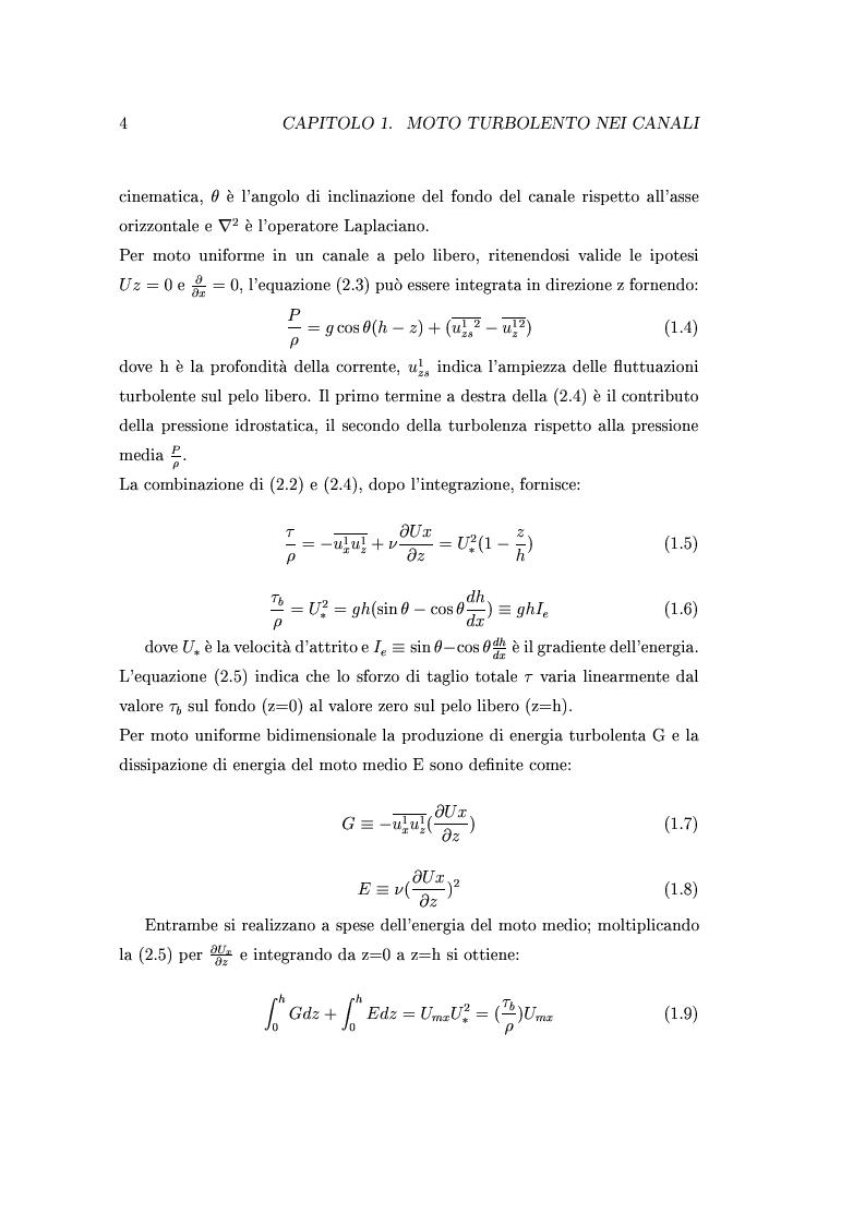 Anteprima della tesi: Indagini sperimentali sulla resistenza al moto prodotta da vegetazione di barena, Pagina 3