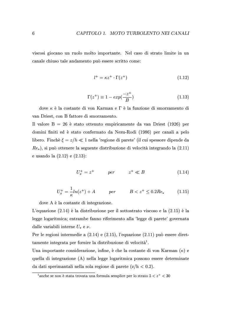 Anteprima della tesi: Indagini sperimentali sulla resistenza al moto prodotta da vegetazione di barena, Pagina 5