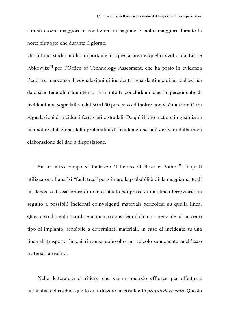 Anteprima della tesi: Modelli di routing e scheduling per il trasporto di merci pericolose, Pagina 9
