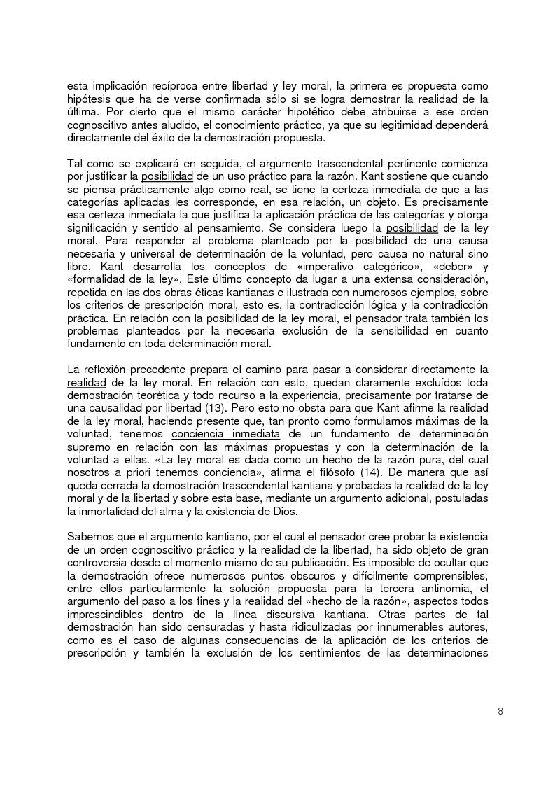 Anteprima della tesi: La moral Kantiana: Estudio Crítico., Pagina 3