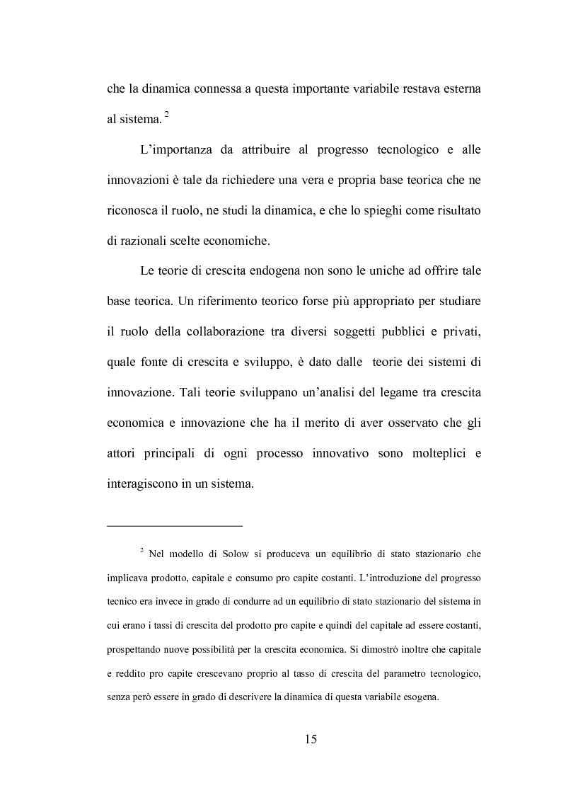 Anteprima della tesi: La produzione di conoscenza e i meccanismi istituzionali: le collaborazioni tra università e imprese, Pagina 11