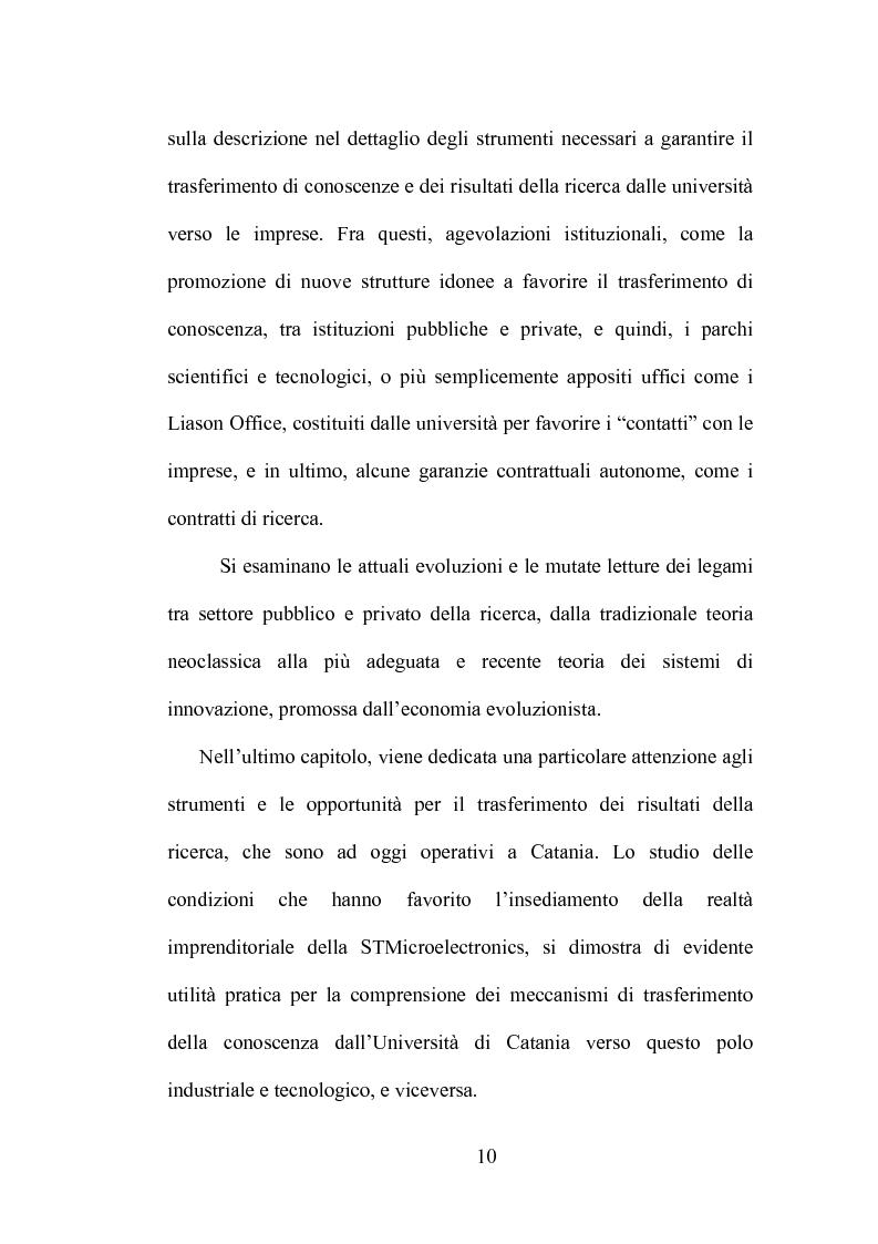 Anteprima della tesi: La produzione di conoscenza e i meccanismi istituzionali: le collaborazioni tra università e imprese, Pagina 6