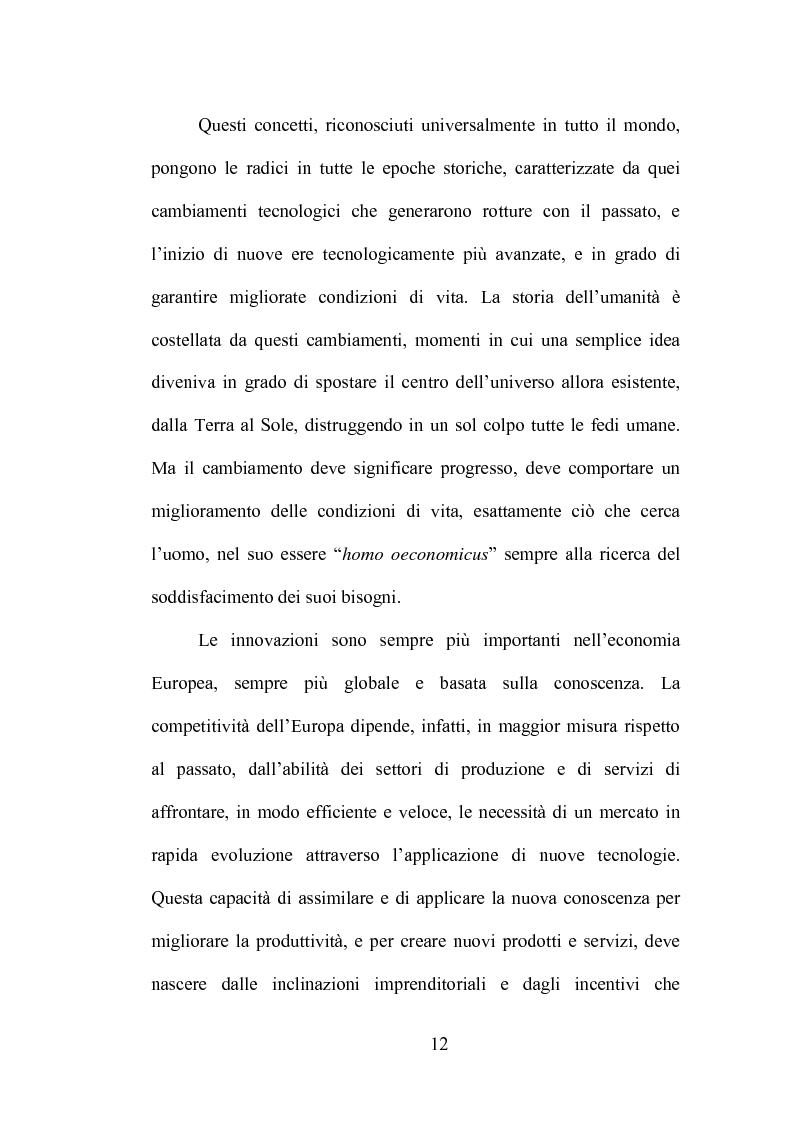 Anteprima della tesi: La produzione di conoscenza e i meccanismi istituzionali: le collaborazioni tra università e imprese, Pagina 8