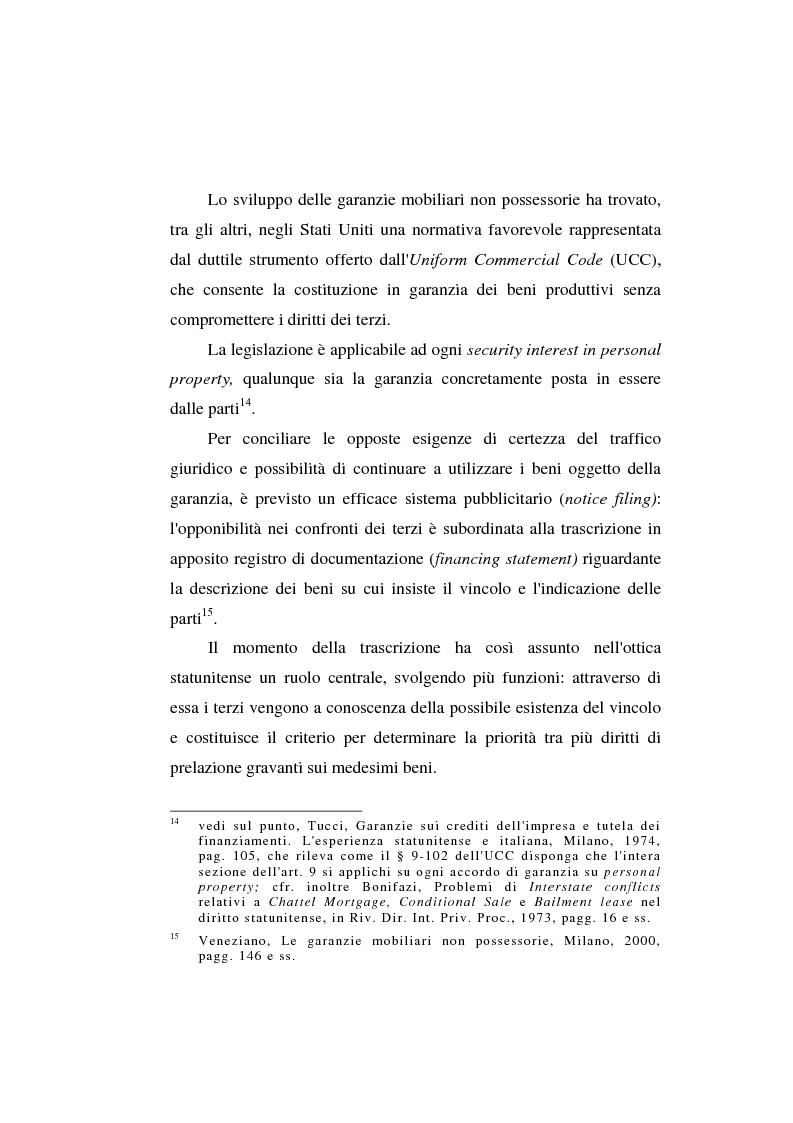Anteprima della tesi: Le garanzie atipiche e il pegno rotativo, Pagina 10