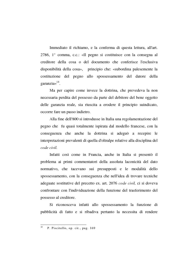 Anteprima della tesi: Le garanzie atipiche e il pegno rotativo, Pagina 13