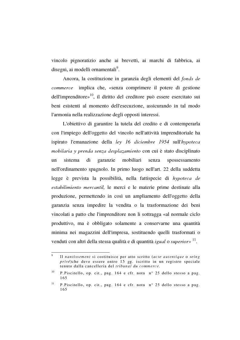 Anteprima della tesi: Le garanzie atipiche e il pegno rotativo, Pagina 8