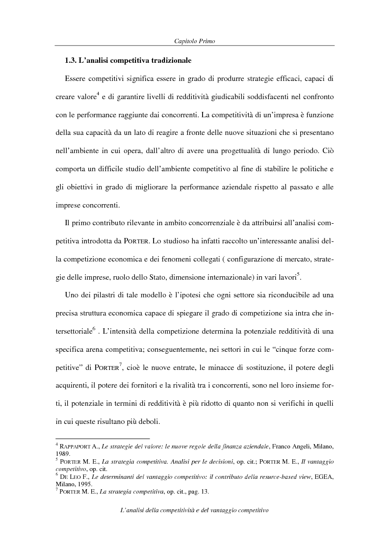 Anteprima della tesi: La competitività come elemento fondante dell'economia industriale. Il caso Coca-Cola, Pagina 12