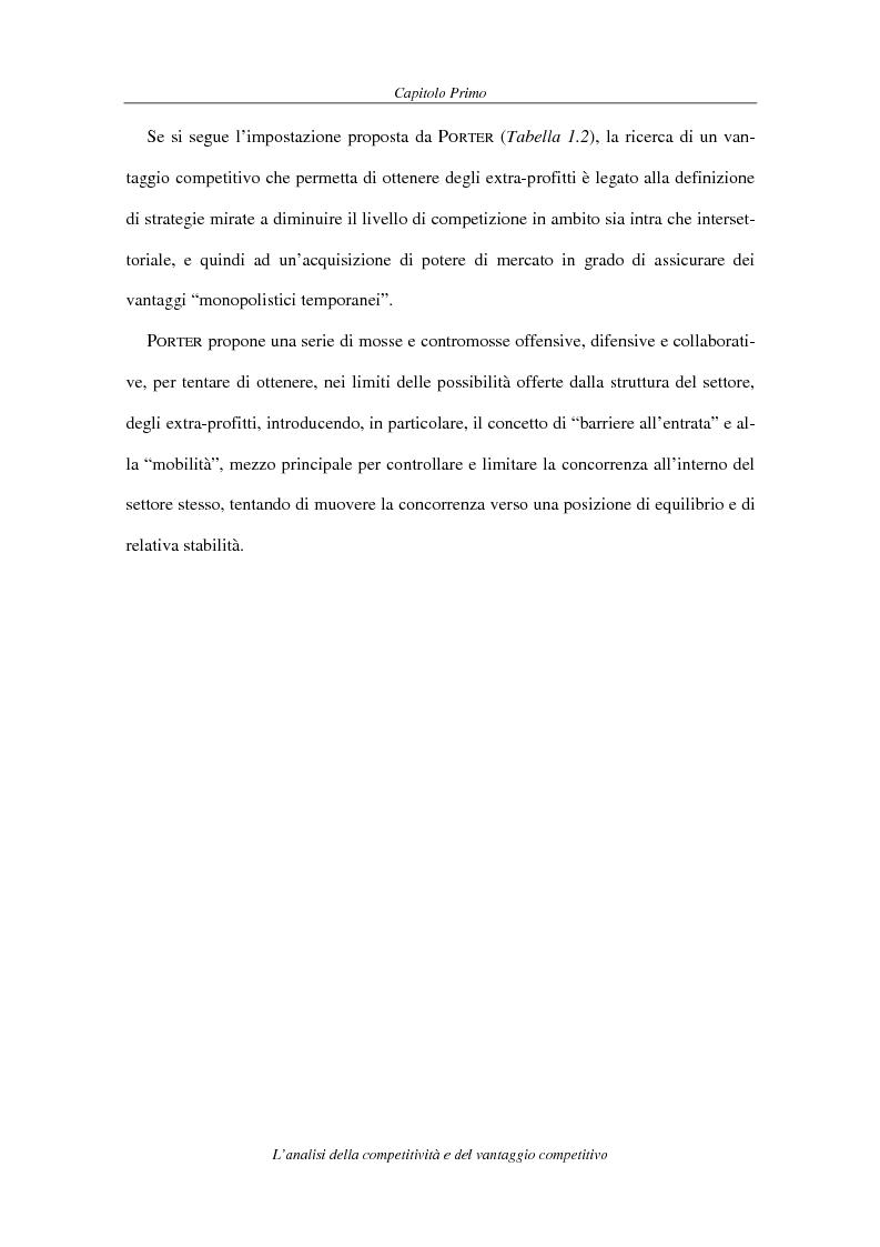 Anteprima della tesi: La competitività come elemento fondante dell'economia industriale. Il caso Coca-Cola, Pagina 13