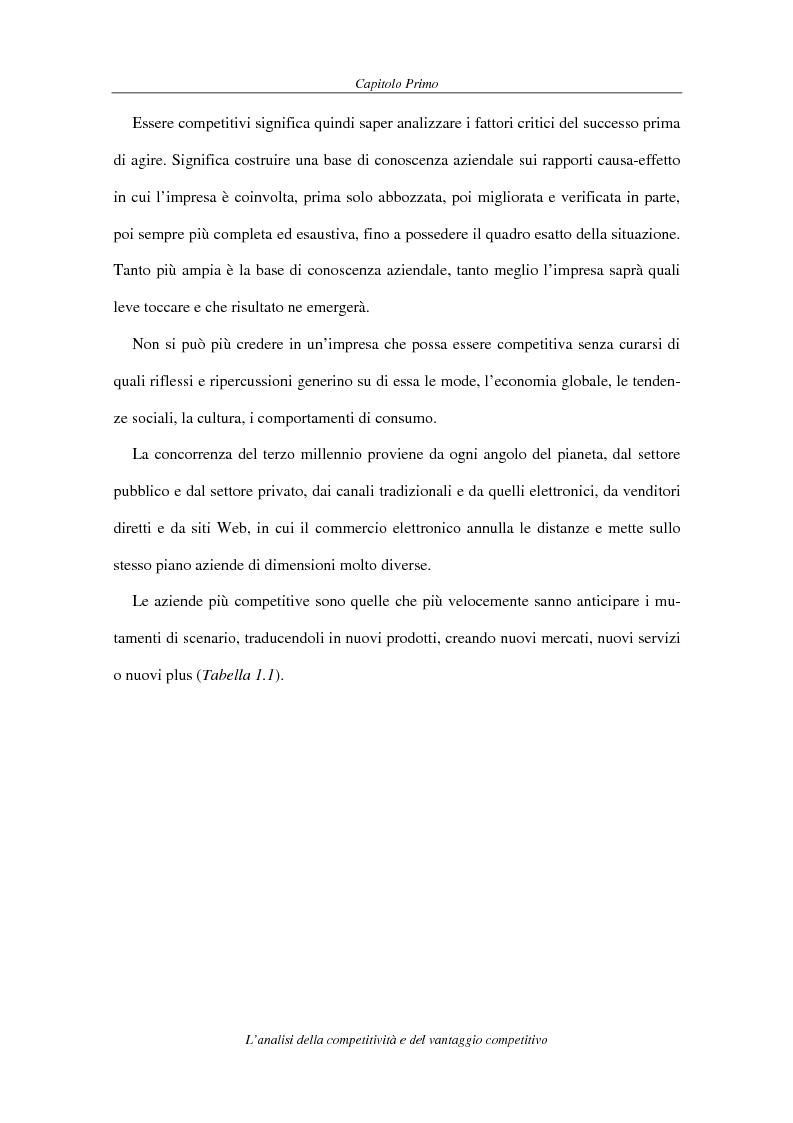 Anteprima della tesi: La competitività come elemento fondante dell'economia industriale. Il caso Coca-Cola, Pagina 7