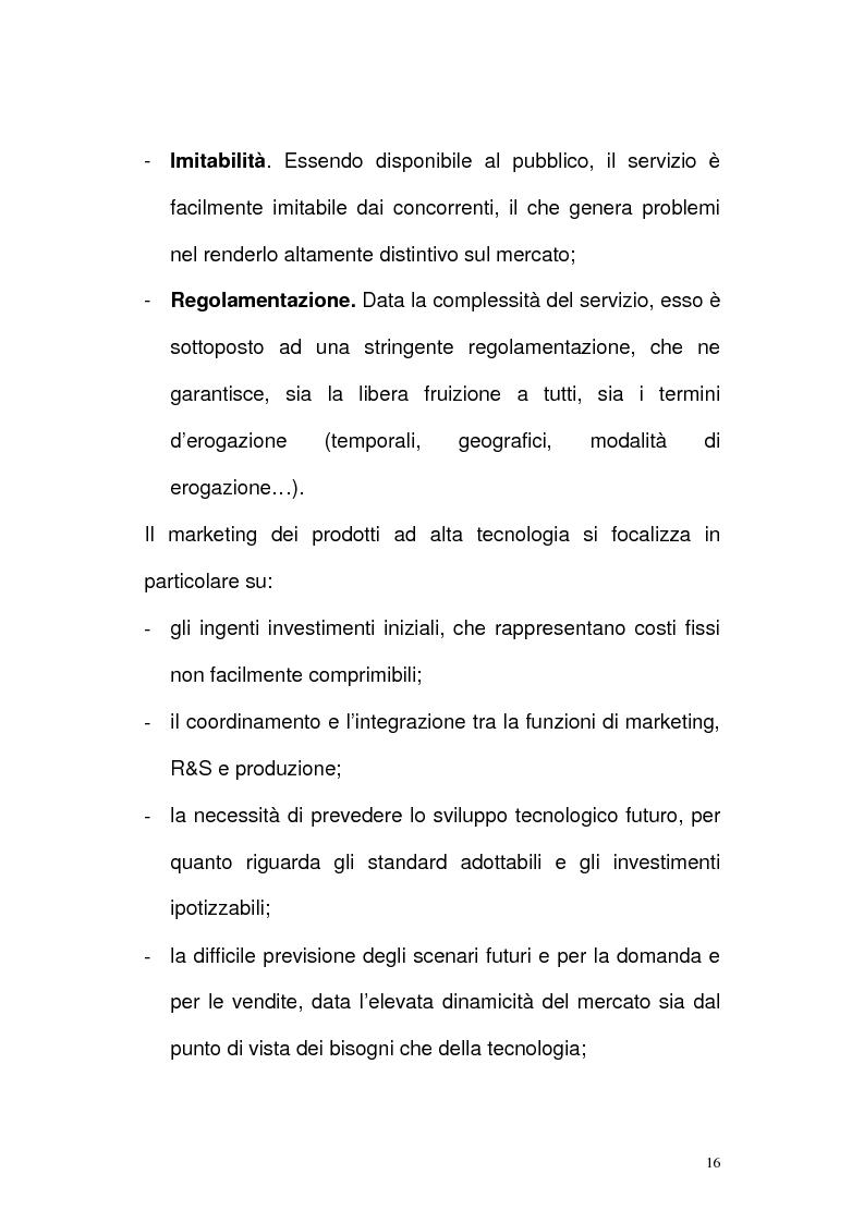 Anteprima della tesi: Il settore delle Tlc dal monopolio all'ipercompetizione. Il caso Wind, Pagina 13
