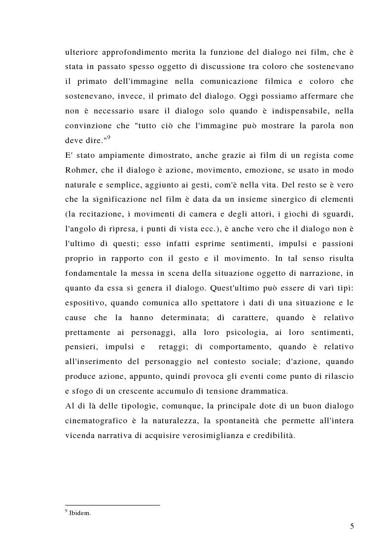 Anteprima della tesi: Dalla scrittura alle immagini. Porte aperte: il romanzo di L. Sciascia e il film di G. Amelio., Pagina 5