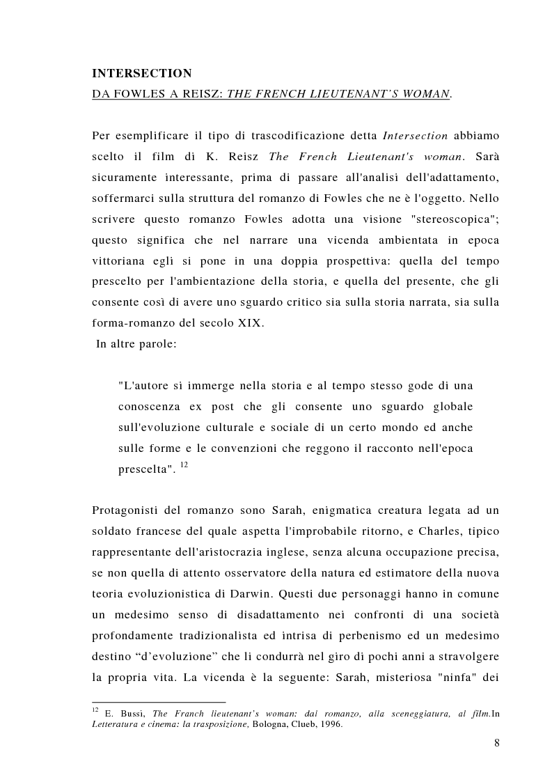 Anteprima della tesi: Dalla scrittura alle immagini. Porte aperte: il romanzo di L. Sciascia e il film di G. Amelio., Pagina 8