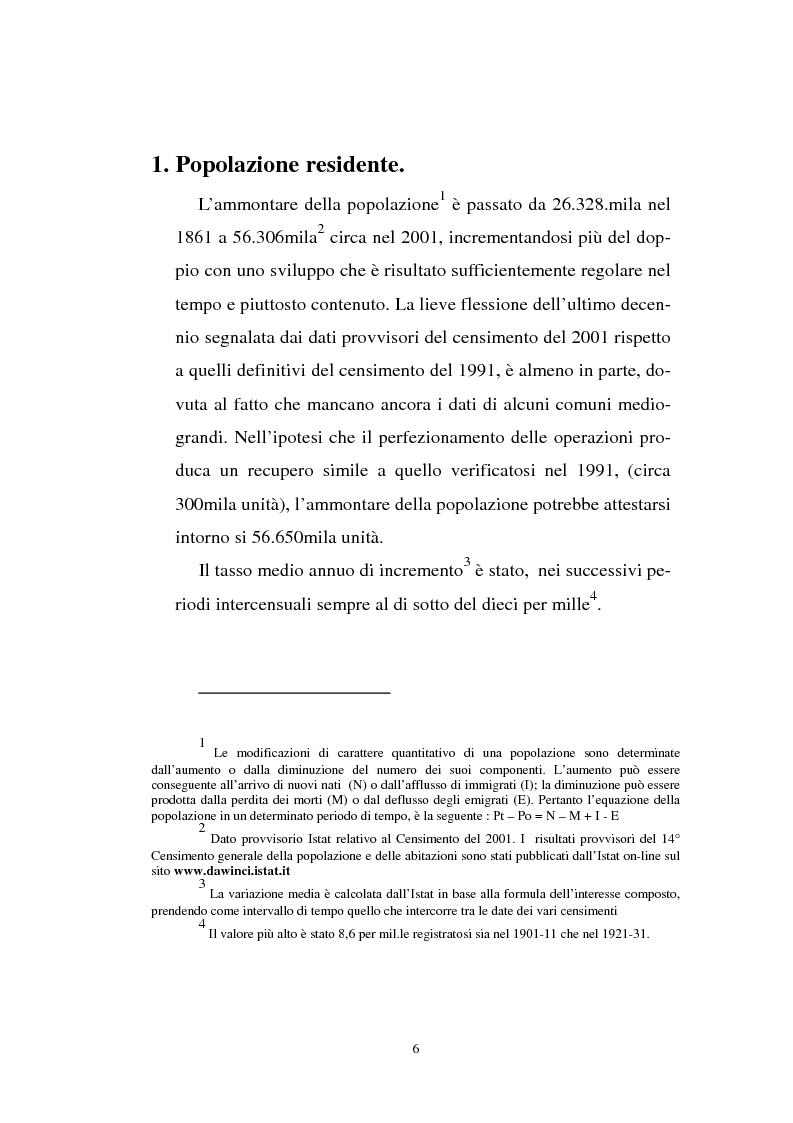 Anteprima della tesi: Gli immigrati e il mercato del lavoro in Italia, Pagina 2