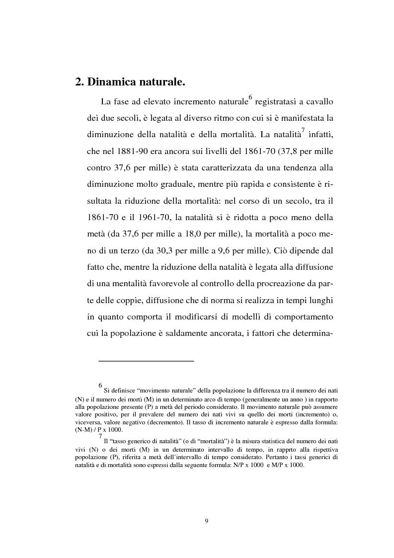 Anteprima della tesi: Gli immigrati e il mercato del lavoro in Italia, Pagina 5