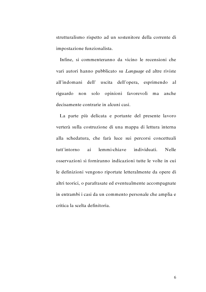 Anteprima della tesi: Il metalinguaggio di Zellig S. Harris nel periodo 1940-1951, Pagina 6
