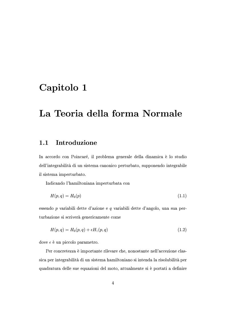 Anteprima della tesi: Teorema della media per equazioni differenziali alle derivate parziali, Pagina 1
