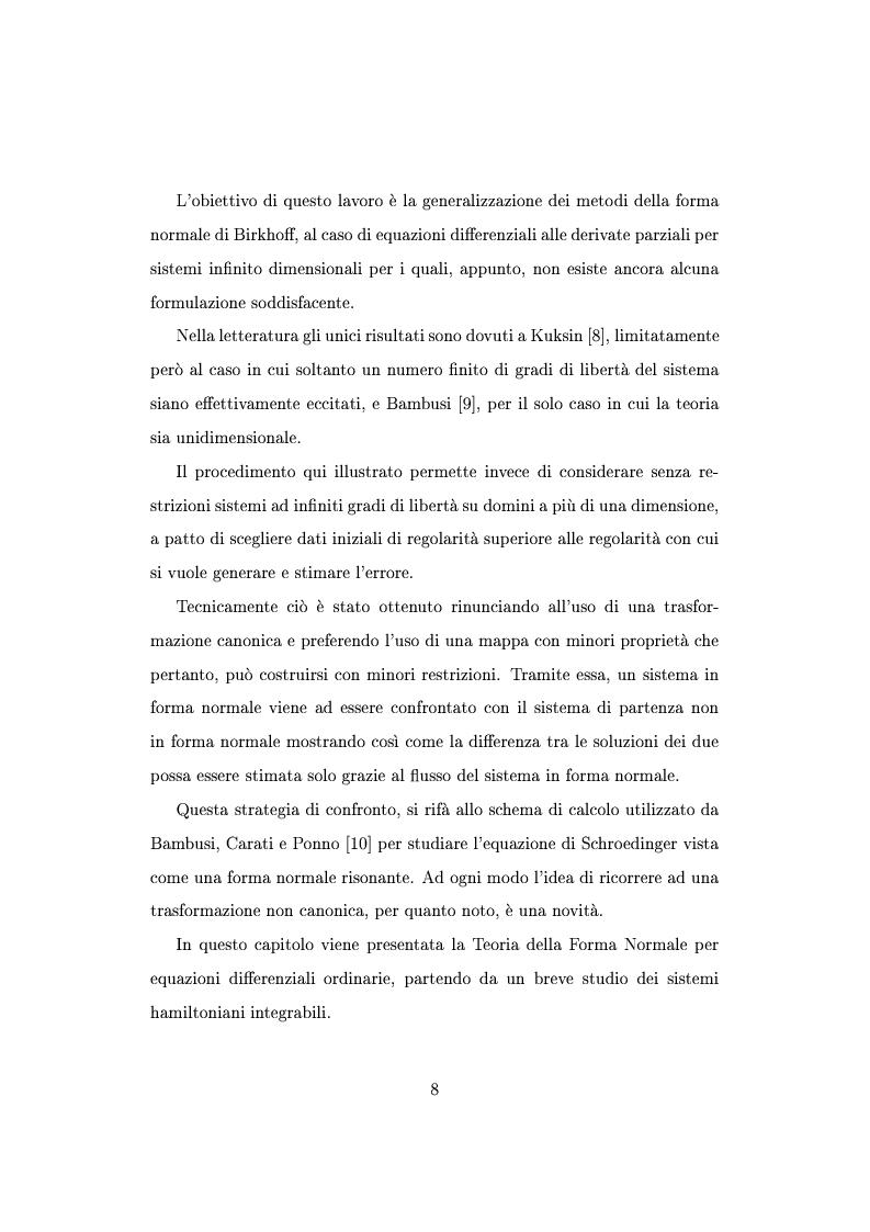Anteprima della tesi: Teorema della media per equazioni differenziali alle derivate parziali, Pagina 5