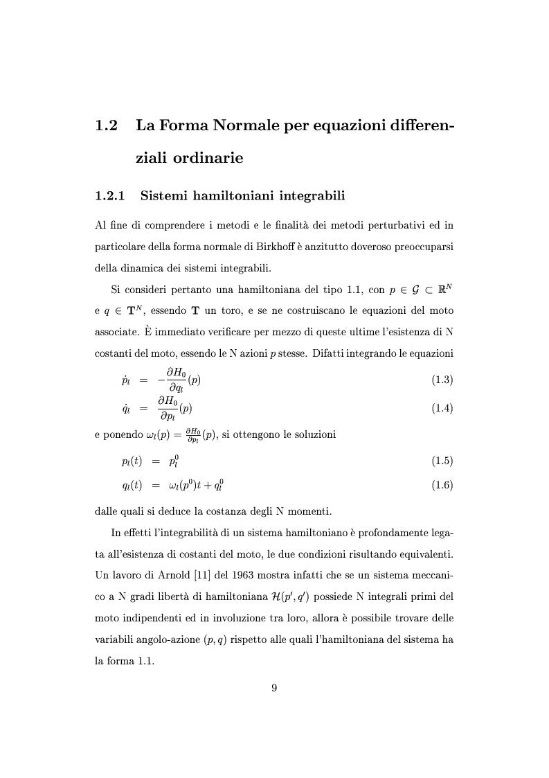 Anteprima della tesi: Teorema della media per equazioni differenziali alle derivate parziali, Pagina 6