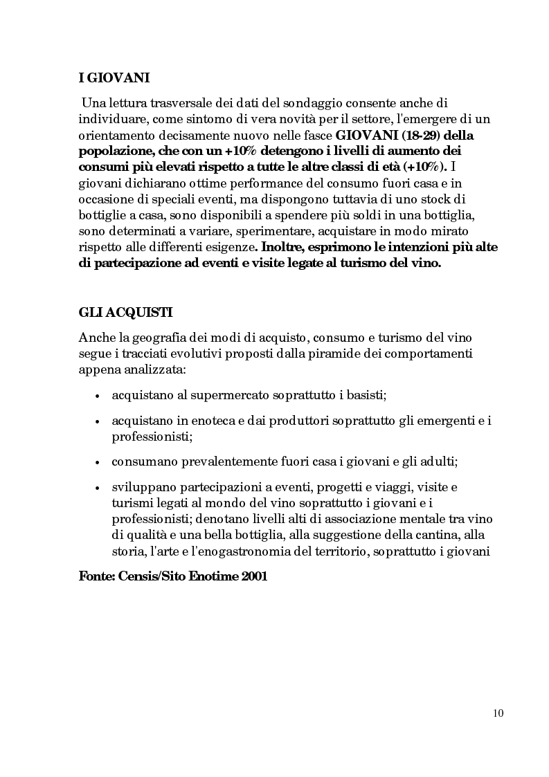 Anteprima della tesi: Progetto di promozione e valorizzazione del vino siciliano, Pagina 10