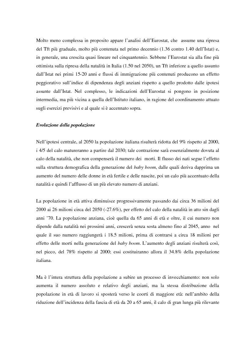 Anteprima della tesi: Invecchiamento della popolazione, stato sociale e assistenza agli anziani, Pagina 13