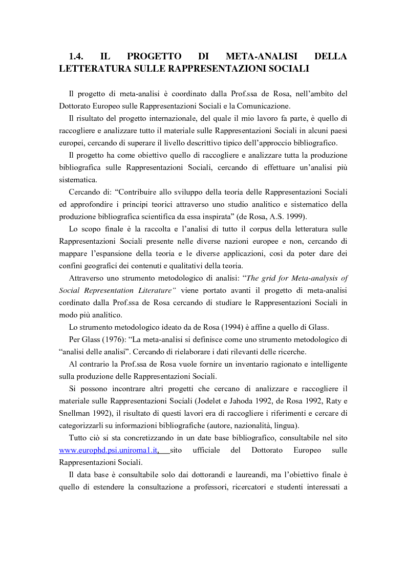 Anteprima della tesi: La diffusione delle rappresentazioni sociali in lingua portoghese, Pagina 11