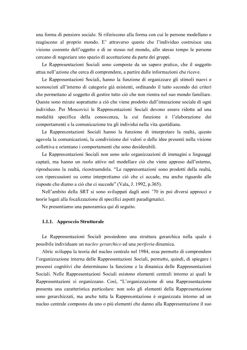 Anteprima della tesi: La diffusione delle rappresentazioni sociali in lingua portoghese, Pagina 4
