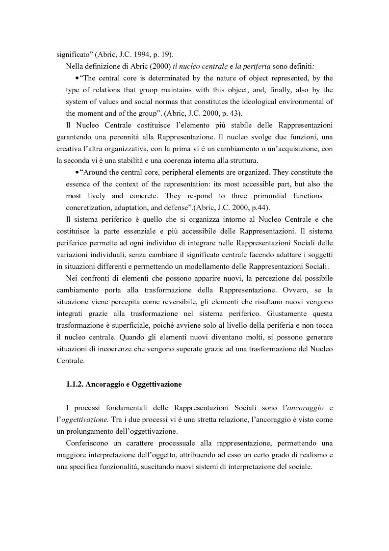 Anteprima della tesi: La diffusione delle rappresentazioni sociali in lingua portoghese, Pagina 5