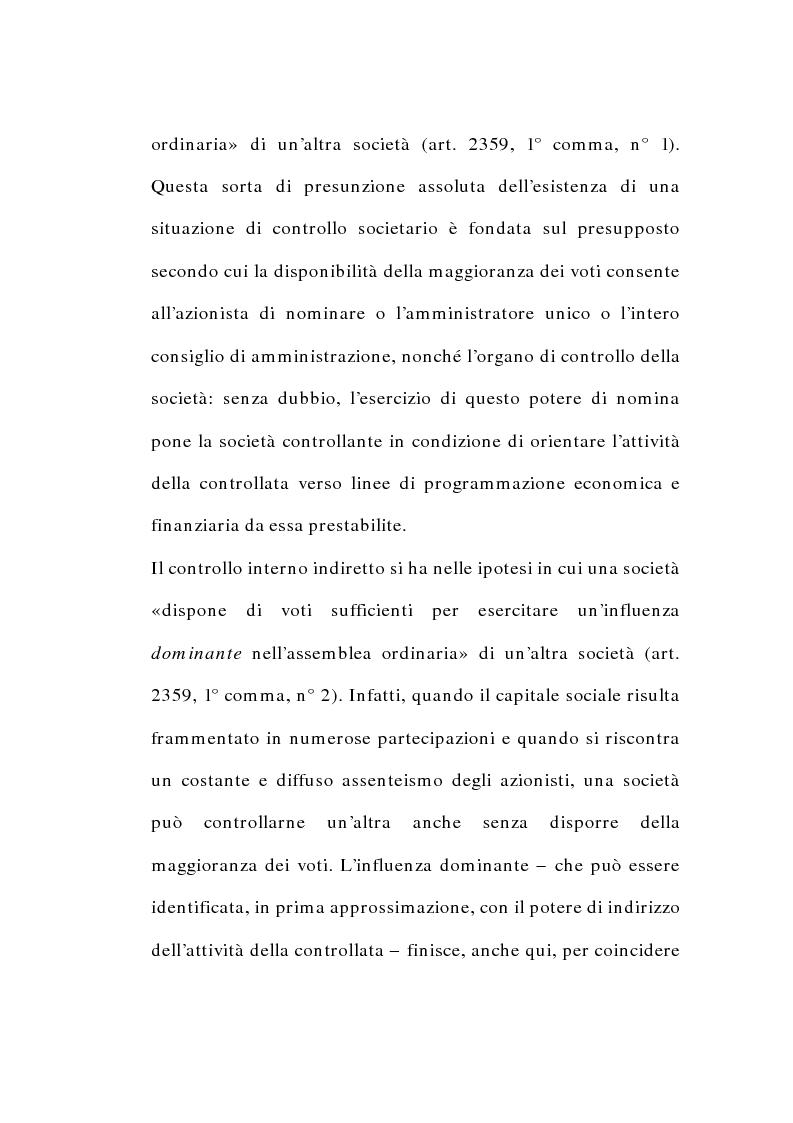 Anteprima della tesi: I gruppi di società nel diritto tributario, Pagina 10
