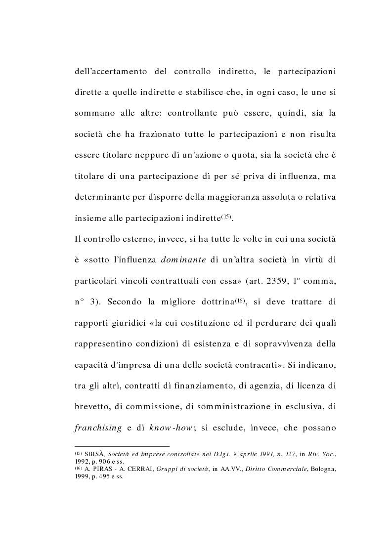 Anteprima della tesi: I gruppi di società nel diritto tributario, Pagina 13