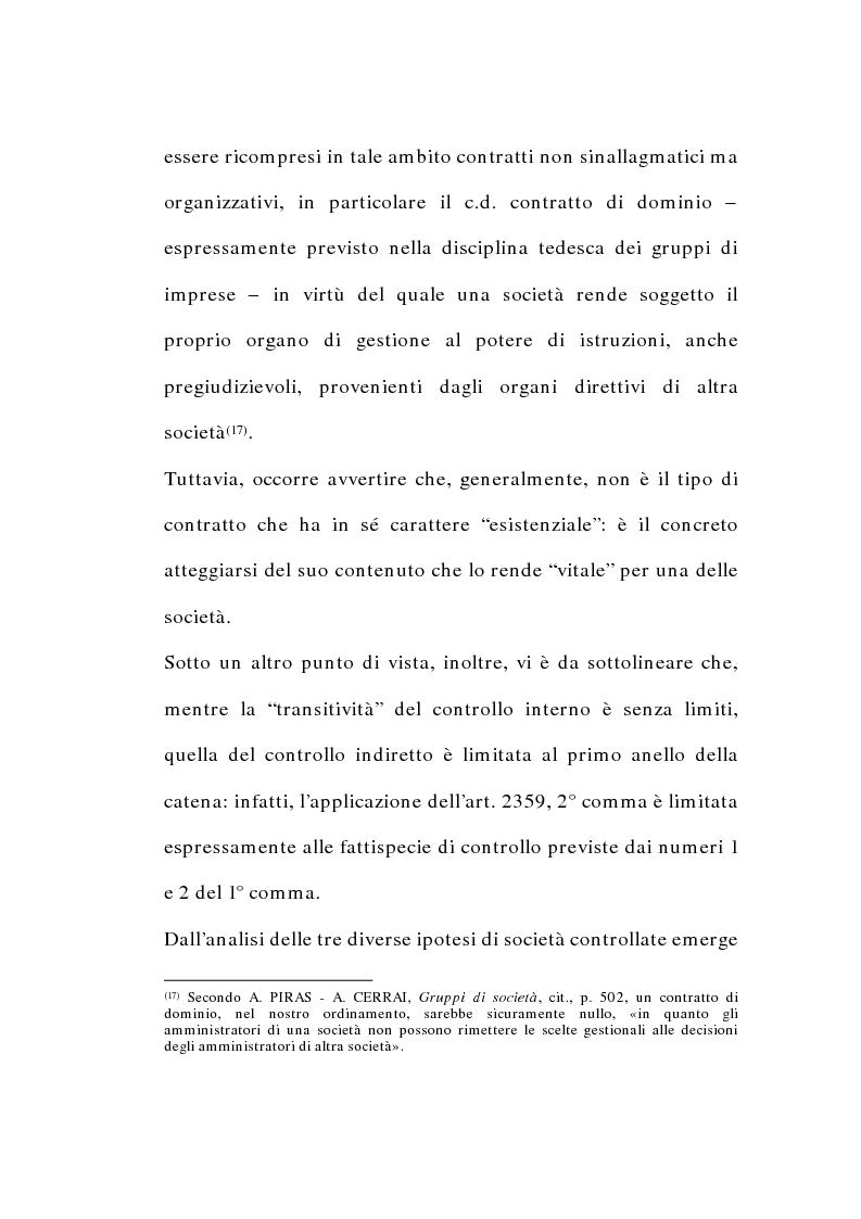 Anteprima della tesi: I gruppi di società nel diritto tributario, Pagina 14