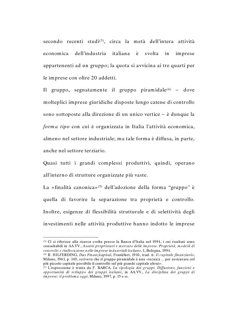 Anteprima della tesi: I gruppi di società nel diritto tributario, Pagina 2