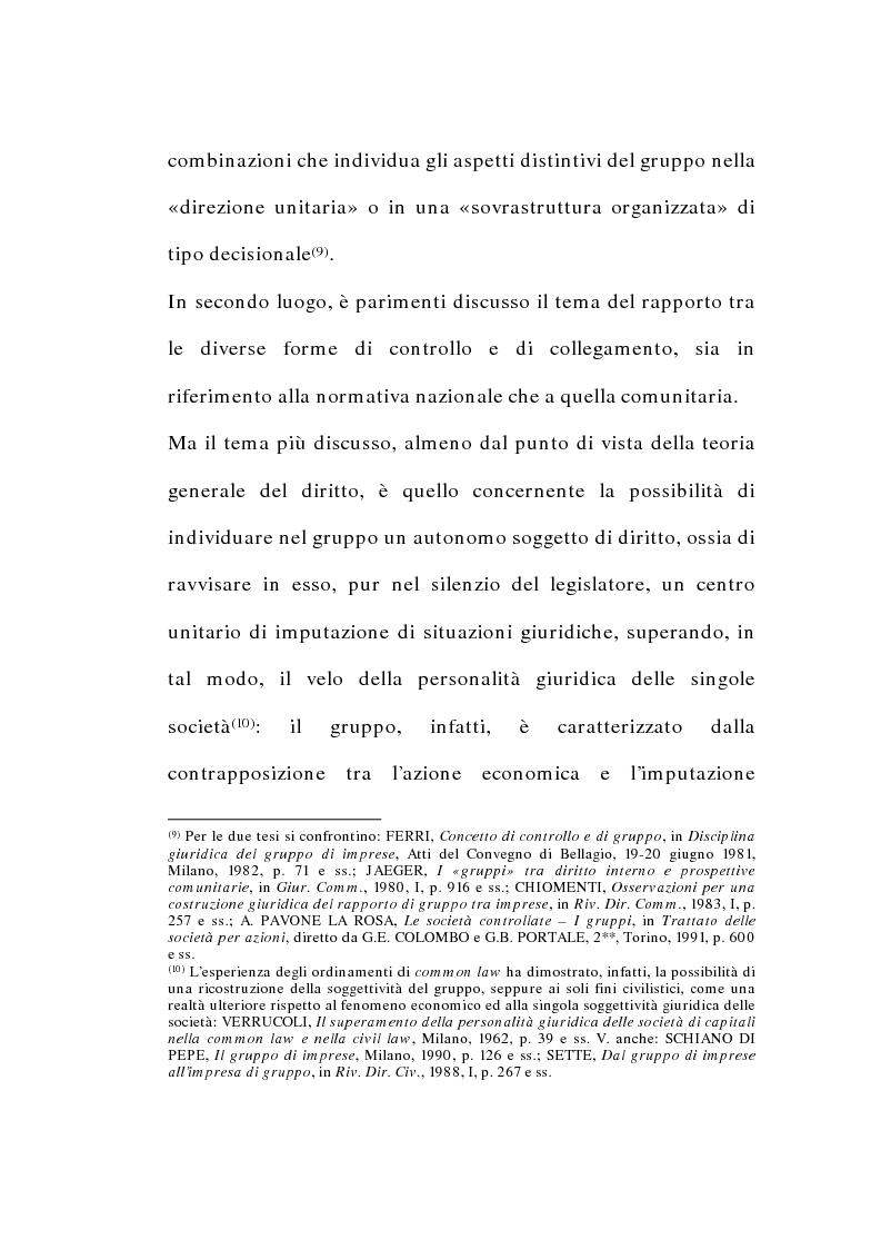 Anteprima della tesi: I gruppi di società nel diritto tributario, Pagina 6