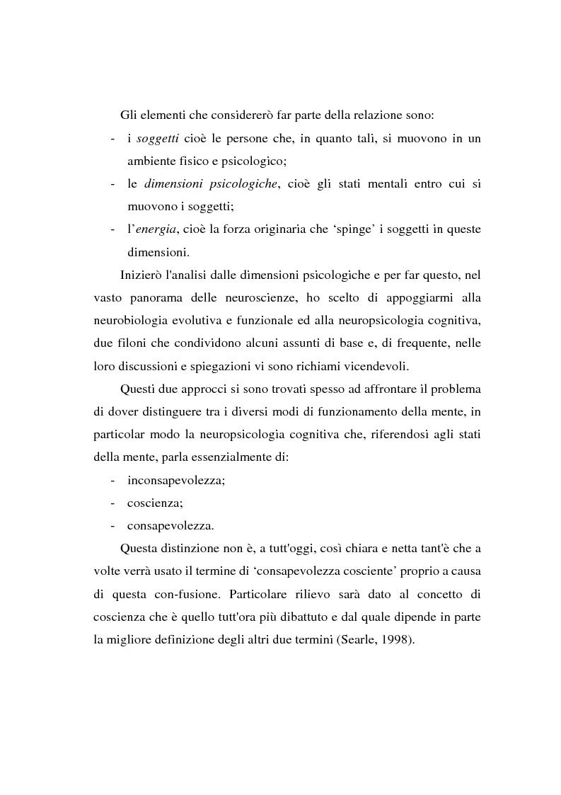 Anteprima della tesi: La 'relazione' come ente autonomo, Pagina 2
