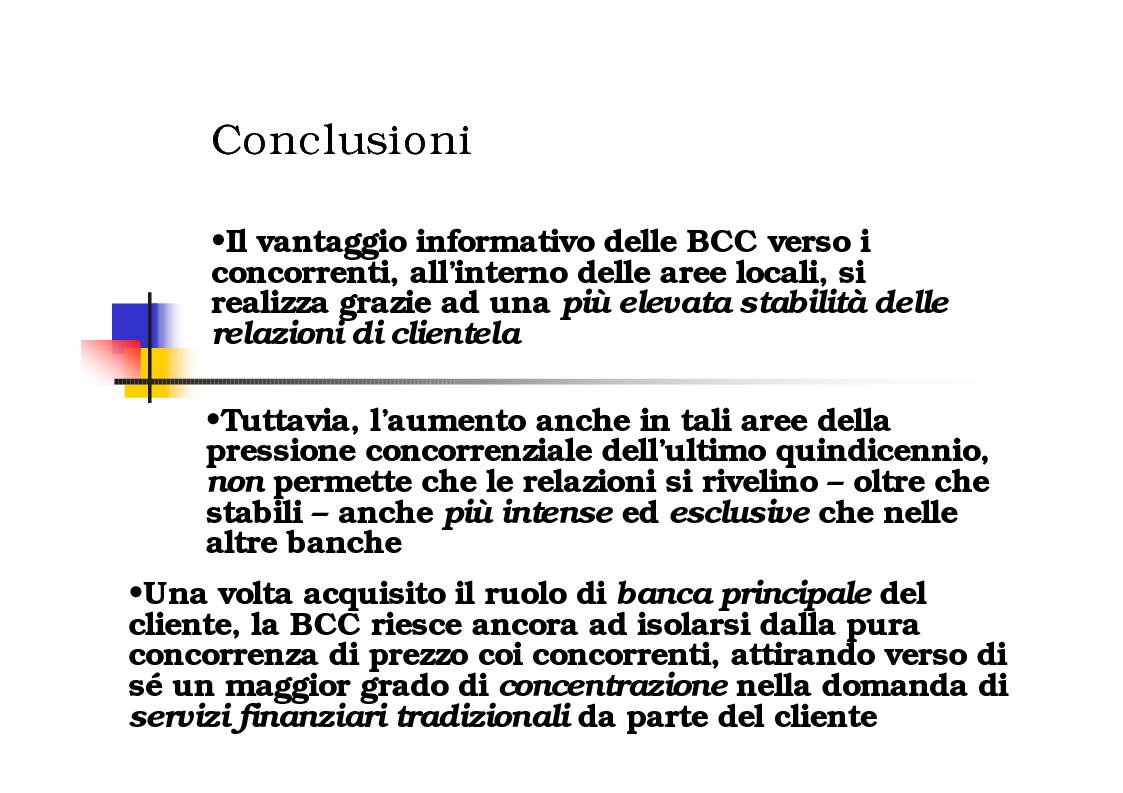 Anteprima della tesi: Gli effetti del Relationship Banking nelle Banche di Credito Cooperativo, Pagina 8