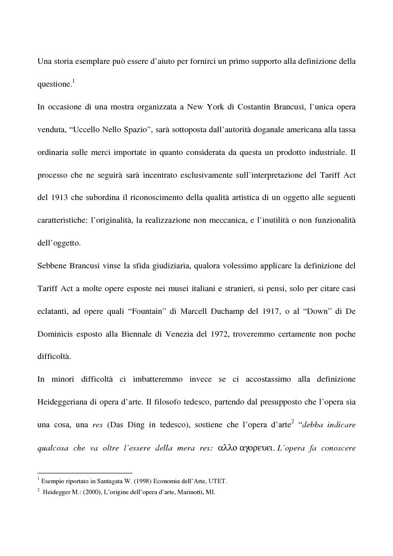 Anteprima della tesi: Visual arts. Dall'idea ai finanziamenti pubblici, Pagina 2