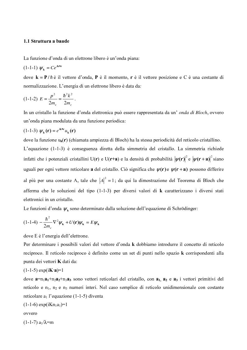 Anteprima della tesi: Sensori per tetraidrofurano e metanolo: dal modello alla caratterizzazione, Pagina 4