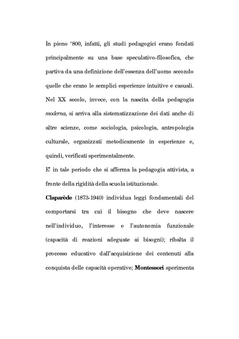 Anteprima della tesi: Pedagogia vocale e terapia riabilitativa nello specifico attorale, Pagina 14