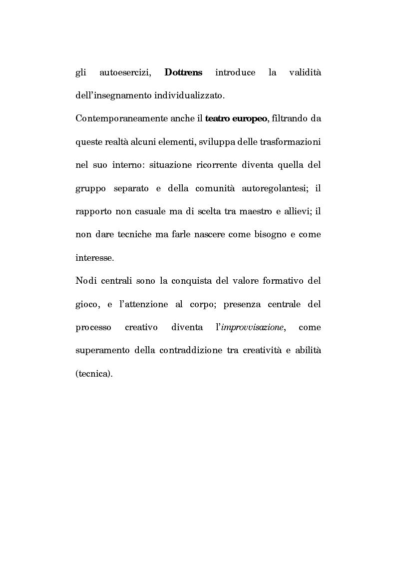 Anteprima della tesi: Pedagogia vocale e terapia riabilitativa nello specifico attorale, Pagina 15