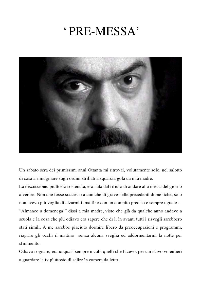 """Anteprima della tesi: Odissea musicale: la colonna sonora di ''2001: A Space Odyssey"""", Pagina 1"""