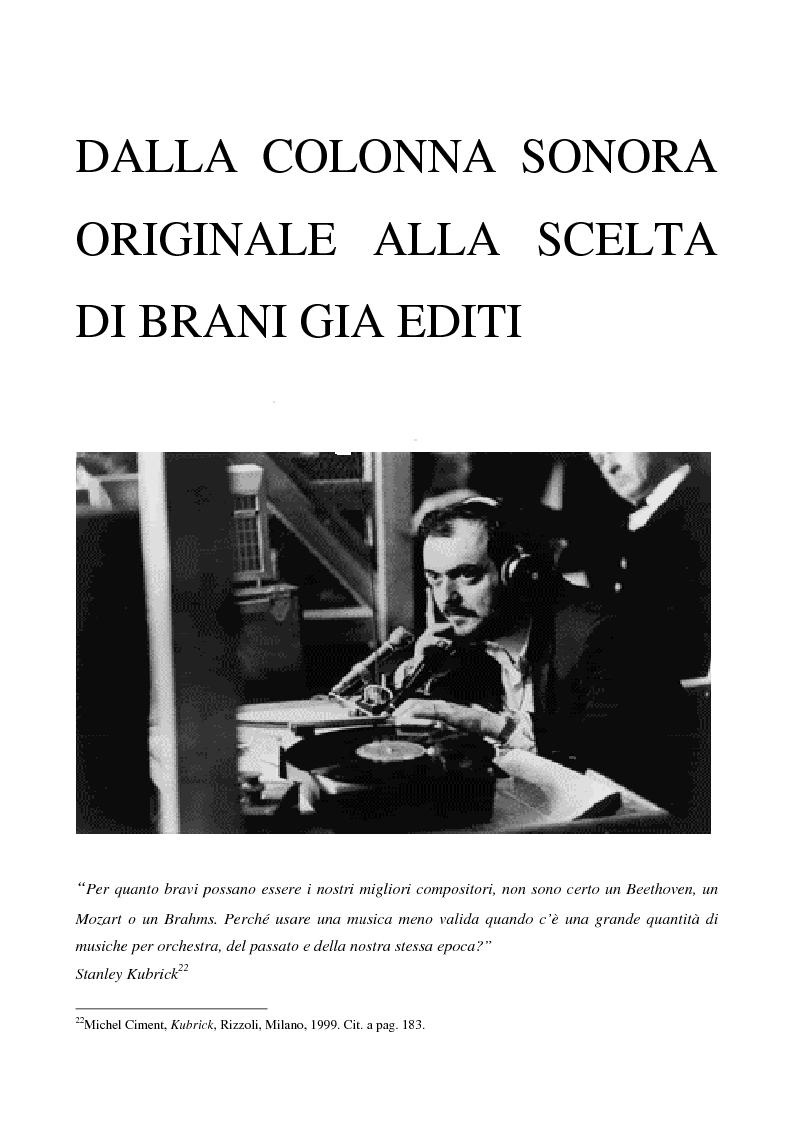 """Anteprima della tesi: Odissea musicale: la colonna sonora di ''2001: A Space Odyssey"""", Pagina 14"""