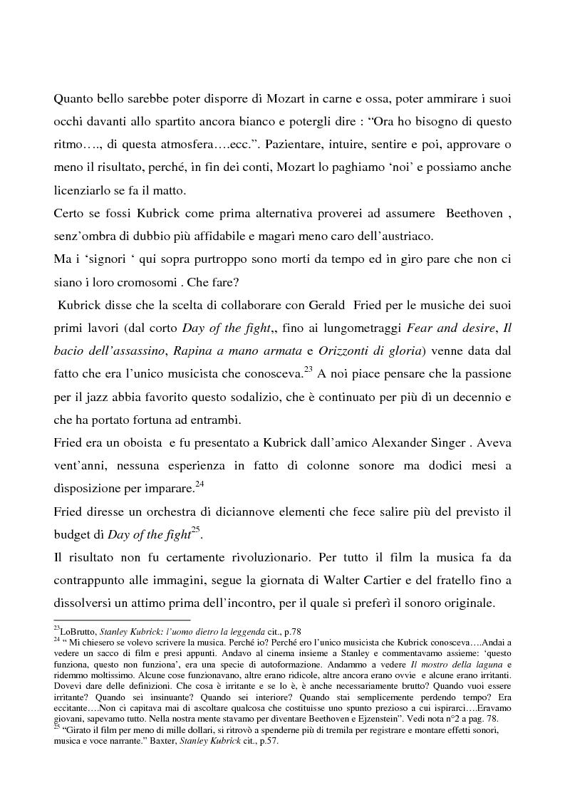 """Anteprima della tesi: Odissea musicale: la colonna sonora di ''2001: A Space Odyssey"""", Pagina 15"""