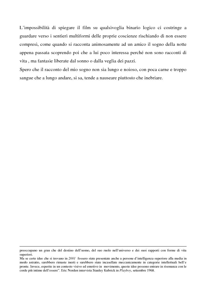 """Anteprima della tesi: Odissea musicale: la colonna sonora di ''2001: A Space Odyssey"""", Pagina 5"""