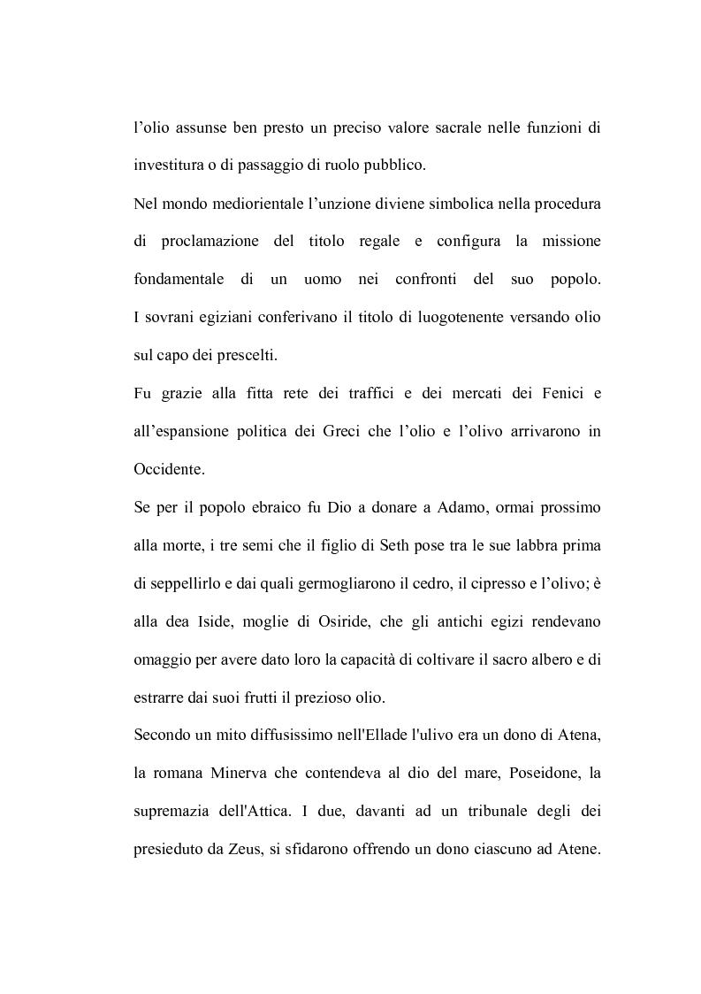 Anteprima della tesi: L'analisi sensoriale degli oli vergini di oliva: aspetti storici, legislativi e tecnico scientifici, Pagina 5