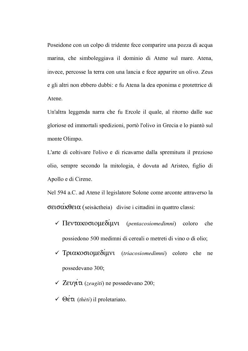 Anteprima della tesi: L'analisi sensoriale degli oli vergini di oliva: aspetti storici, legislativi e tecnico scientifici, Pagina 6