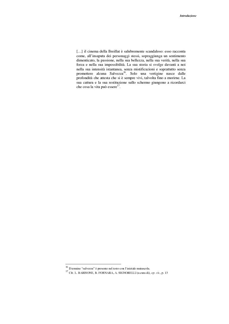 Anteprima della tesi: L'opera narrativa di Catherine Breillat, Pagina 10