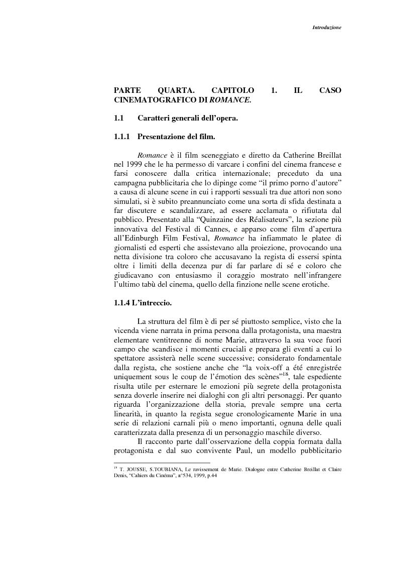 Anteprima della tesi: L'opera narrativa di Catherine Breillat, Pagina 11