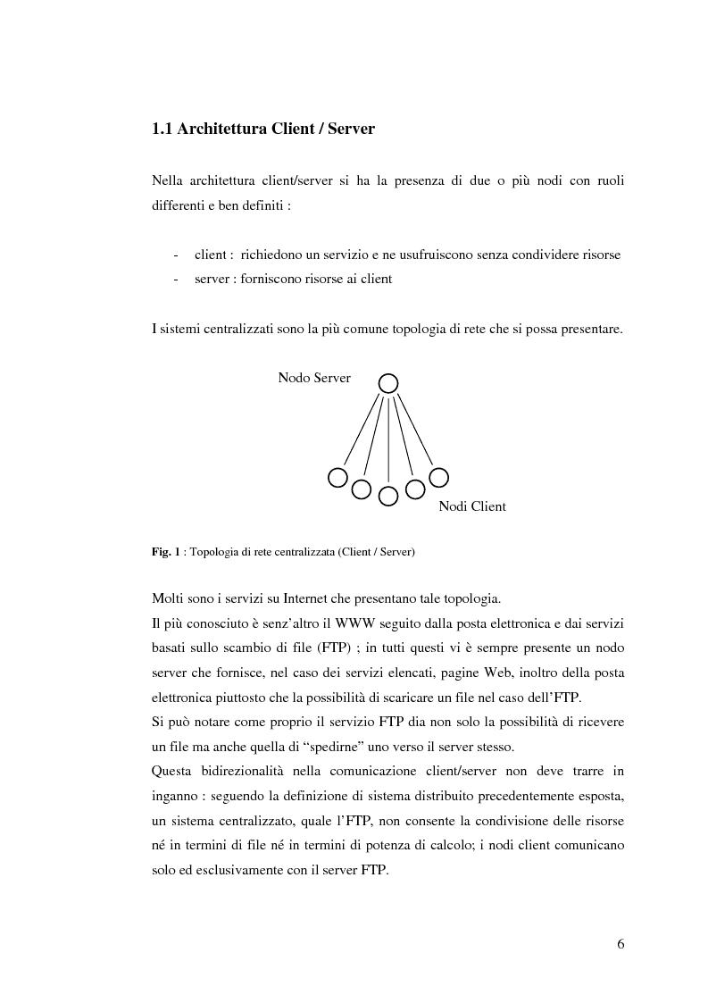 Anteprima della tesi: Qualità di servizio per reti peer-to-peer, Pagina 2
