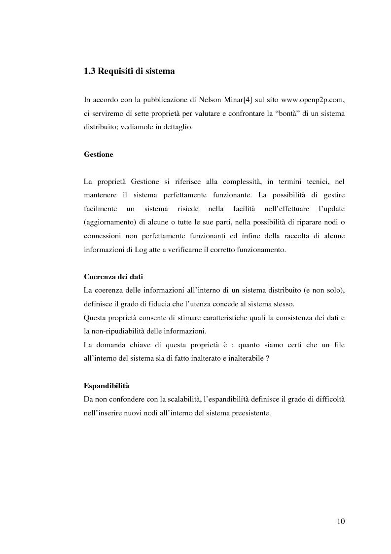 Anteprima della tesi: Qualità di servizio per reti peer-to-peer, Pagina 6