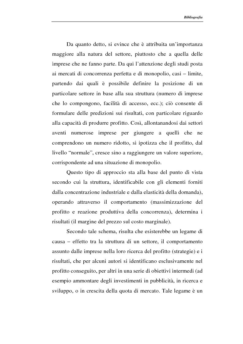 Anteprima della tesi: Modelli di persistenza dei profitti, Pagina 6