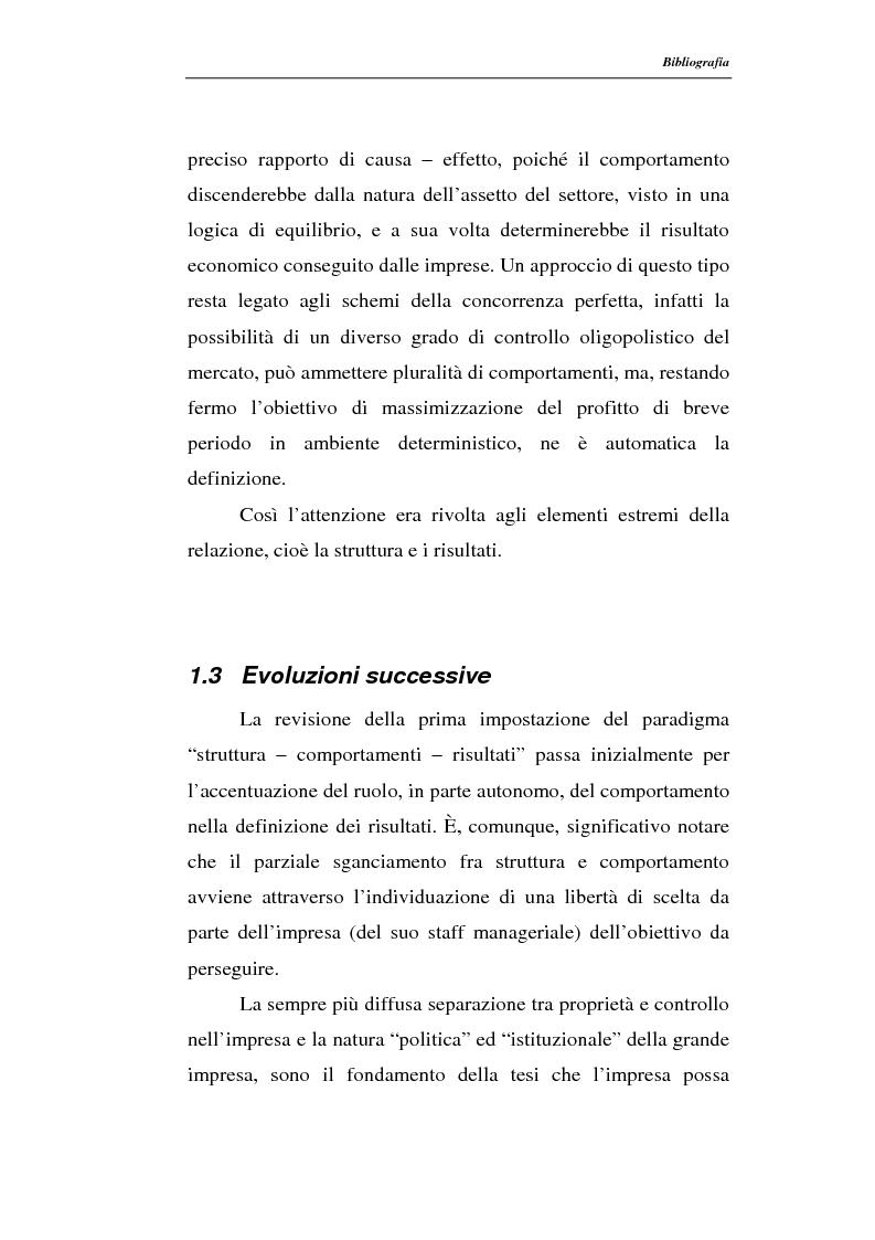 Anteprima della tesi: Modelli di persistenza dei profitti, Pagina 7